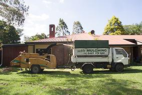brisbane mulching